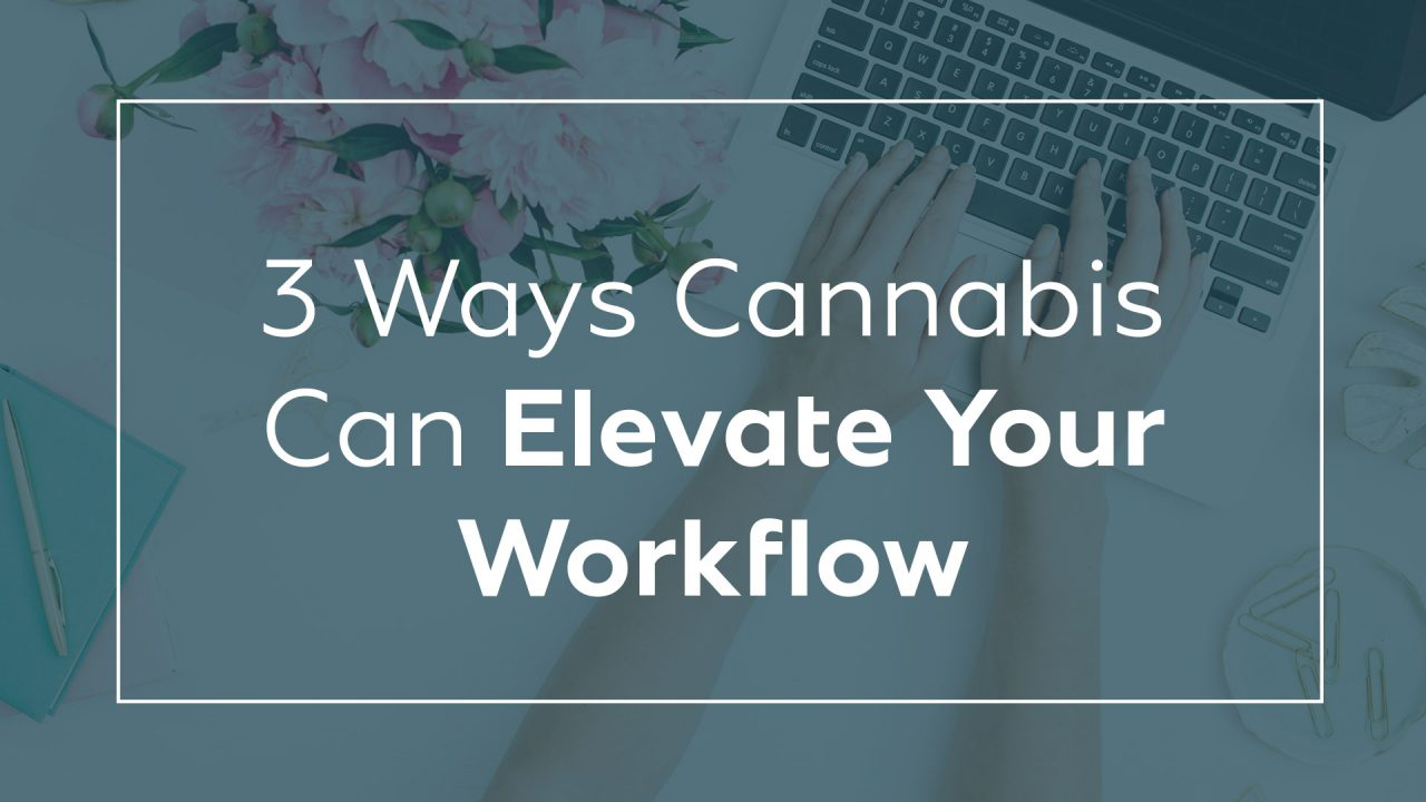 3 Ways Cannabis Can Elevate Your Workflow
